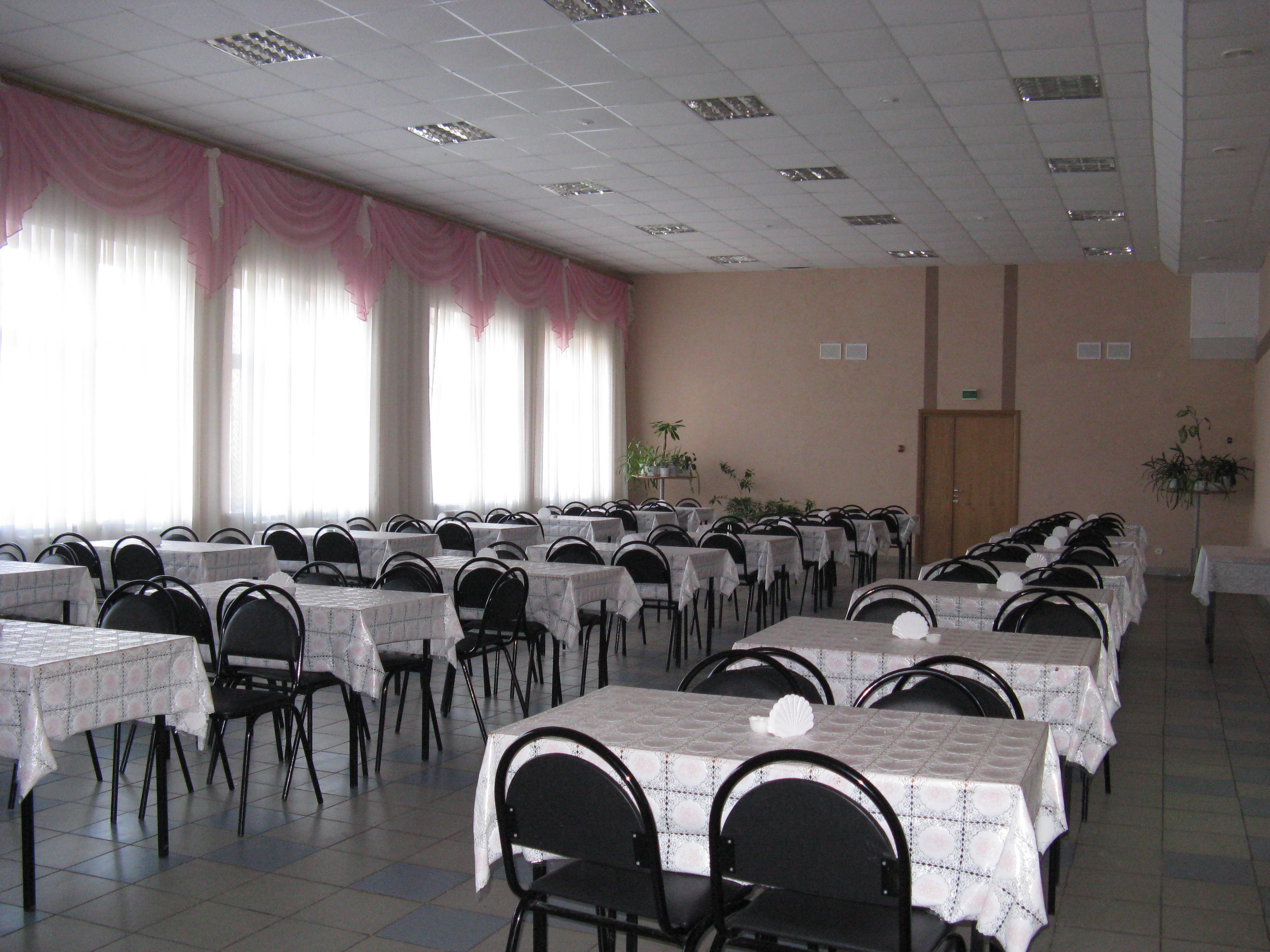 Столовая педагогического отделения